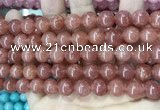 CCN5548 15 inches 8mm round candy jade beads Wholesale