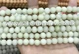 CCN5602 15 inches 8mm round matte candy jade beads Wholesale