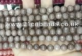 CCN5687 15 inches 8mm faceted round candy jade beads