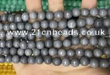 CCN5690 15 inches 8mm faceted round candy jade beads