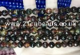 CCN5745 15 inches 8mm faceted round candy jade beads