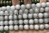 CCN5766 15 inches 10mm faceted round candy jade beads