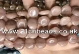 CCN5865 15 inches 15mm flat round candy jade beads Wholesale