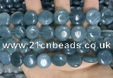 CCN5897 15 inches 15mm flat round candy jade beads Wholesale