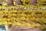 CCN5931 15 inches 12*12mm heart candy jade beads Wholesale