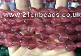 CCN5932 15 inches 12*12mm heart candy jade beads Wholesale