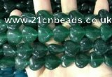 CCN5959 15 inches 14*14mm heart candy jade beads Wholesale