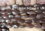 CCN5979 15 inches 13*18mm faceted oval candy jade beads