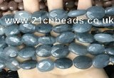 CCN5982 15 inches 13*18mm faceted oval candy jade beads