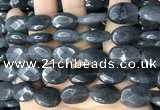 CCN5983 15 inches 13*18mm faceted oval candy jade beads