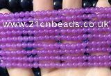CCN6028 15.5 inches 4mm round candy jade beads Wholesale