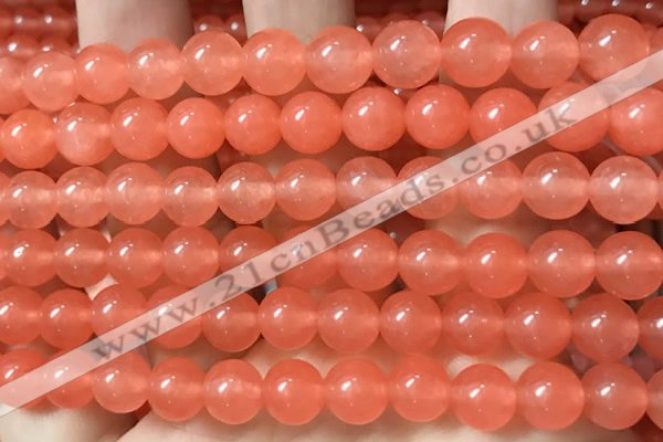 CCN6046 15.5 inches 10mm round candy jade beads Wholesale