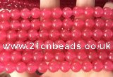 CCN6057 15.5 inches 8mm round candy jade beads Wholesale