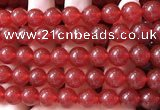 CCN6063 15.5 inches 12mm round candy jade beads Wholesale