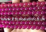 CCN6073 15.5 inches 8mm round candy jade beads Wholesale