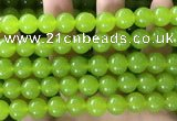 CCN6103 15.5 inches 10mm round candy jade beads Wholesale