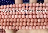 CCN6109 15.5 inches 6mm round candy jade beads Wholesale