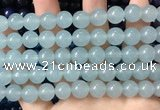 CCN6128 15.5 inches 12mm round candy jade beads Wholesale