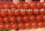 CCN6180 15.5 inches 14mm round candy jade beads Wholesale