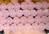 CCN6186 15.5 inches 14mm round candy jade beads Wholesale