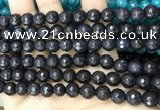 CCN6300 15.5 inches 8mm faceted round candy jade beads Wholesale
