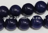 CCN74 15.5 inches 14mm round candy jade beads wholesale