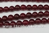 CCN83 15.5 inches 6mm round candy jade beads wholesale