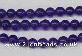 CCN86 15.5 inches 6mm round candy jade beads wholesale