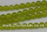 CCN87 15.5 inches 6mm round candy jade beads wholesale