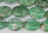 CCO118 15.5 inches 13*18mm oval dyed natural chrysotine beads