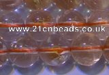 CCR200 15.5 inches 10mm round natural citrine gemstone beads