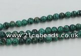 CCS201 15.5 inches 4mm round natural Chinese chrysocolla beads