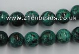 CCS204 15.5 inches 10mm round natural Chinese chrysocolla beads