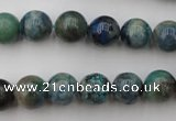 CCS503 15.5 inches 10mm round natural chrysocolla gemstone beads
