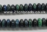 CCS74 15.5 inches 6*10mm rondelle dyed chrysocolla gemstone beads