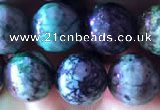 CCS854 15.5 inches 12mm round natural chrysocolla beads wholesale