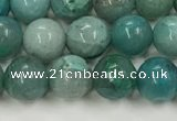 CCS874 15.5 inches 6mm round natural chrysocolla gemstone beads