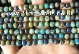 CCS876 15.5 inches 6mm round natural chrysocolla beads wholesale