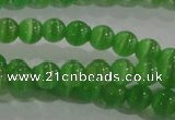 CCT1163 15 inches 3mm round tiny cats eye beads wholesale