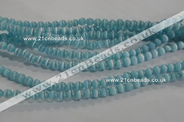 CCT1166 15 inches 3mm round tiny cats eye beads wholesale