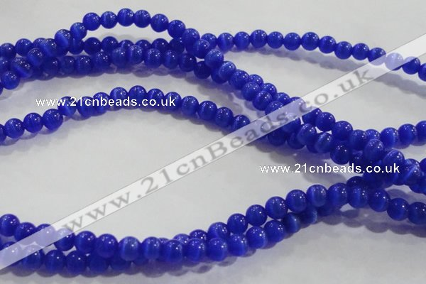 CCT1170 15 inches 3mm round tiny cats eye beads wholesale