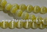 CCT1207 15 inches 4mm round cats eye beads wholesale