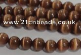 CCT1217 15 inches 4mm round cats eye beads wholesale
