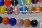 CCT1294 15 inches 5mm round cats eye beads wholesale