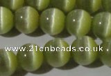 CCT1330 15 inches 6mm round cats eye beads wholesale