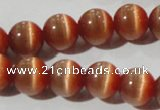 CCT1333 15 inches 6mm round cats eye beads wholesale