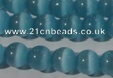 CCT1350 15 inches 6mm round cats eye beads wholesale