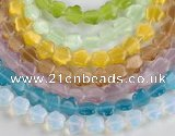 CCT15 Different color 10mm star shape cats eye beads Wholesale