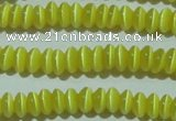 CCT213 15 inches 2*4mm rondelle cats eye beads wholesale