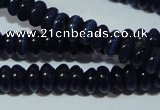 CCT222 15 inches 2*4mm rondelle cats eye beads wholesale